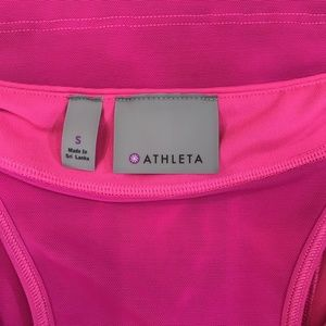 Athleta Tops - Athleta Pink Space Dye PR Tank 2